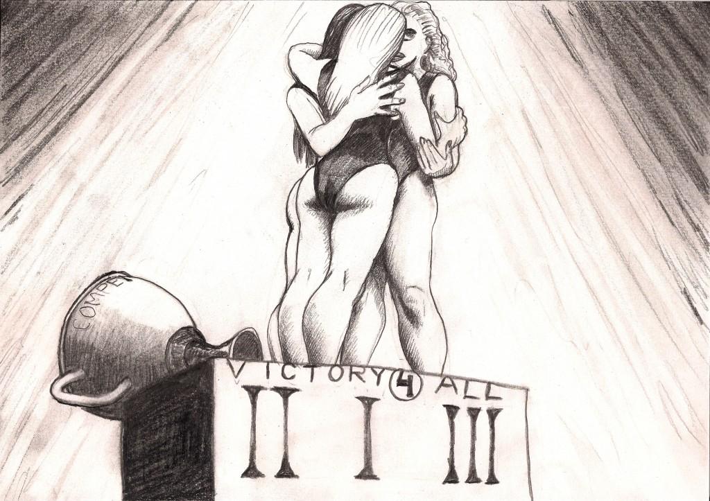 Victory for All, Barend van Hoek, potlood op papier, 2012