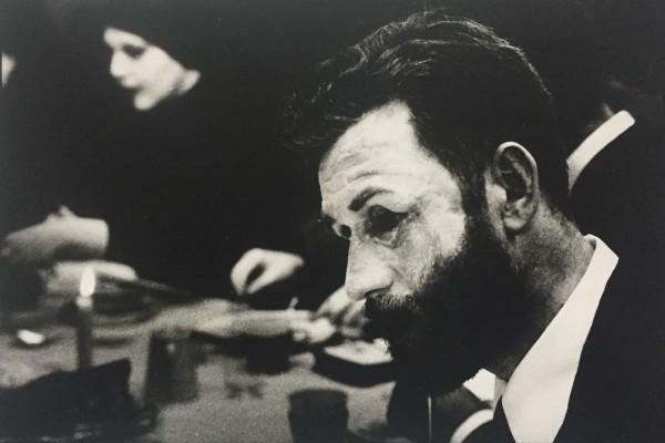 Joost tijdens de begrafenis van de Voet 1976